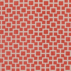Ming Fret Coral RM Coco Fabric