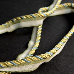 1008T 8821 Blue Gold Lip Cord