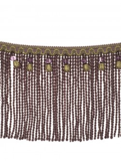 Mountain Resort Lavender Twist Trim Fabric