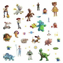 RMK4008SCS Blues Disney And Pixar Toy Story 4 Wall Decals