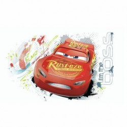 RMK3465GM Reds Disney And Pixar Lightning Mcqueen Giant Wall Decal