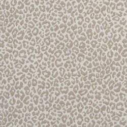 1596 Taupe Fabric by Charlotte Fabrics