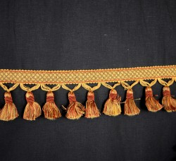 BF4005 88 61 Copper Gold Tassel Trim