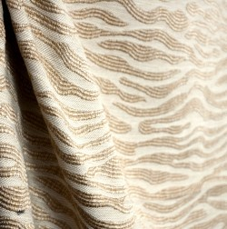 Hamilton Fabric Current Linen Natural Toned Chenille Upholstery Fabric