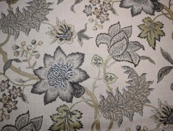 Jacobean Flair Vermeil Waverly Fabric