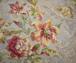 Fresco Flourish Jewel Waverly Fabric