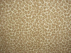 Spots Beige Chenille Animal Upholstery Golding Fabric