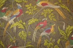 Pheasant Hunt Leather Pkaufmann Fabric