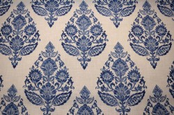 Lydia Antique Blue Covington Fabric