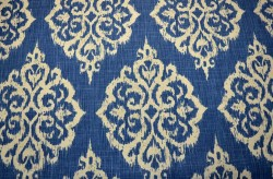 REMNANT Tangier Seaside Covington Fabric - 55 inches x 1.75 yards
