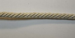 6062 Ecru White Lip Cord Trim