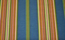 REMNANT Blue Stripe Fabric 56 inches x 1.5 yards