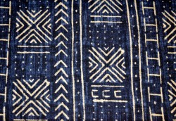 Mali Mud Cloth Indigo P Kaufmann Fabric