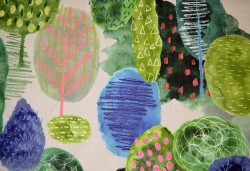Enchanted Forest Natural Hamilton Fabric