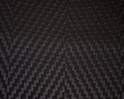 Flamestitch Charcoal Fabric