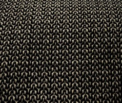 Squiggle Black Grey Fabric
