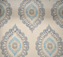 Aladdin Peacock Fabric