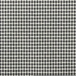 Linley Gingham Black Covington Fabric