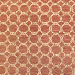 Dax Coral Regal Fabric