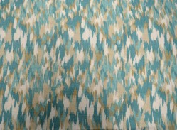 Paintbrush Aqua Bartson Fabric