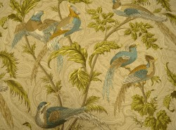 Pheasant Hunt Birch Braemore Fabric