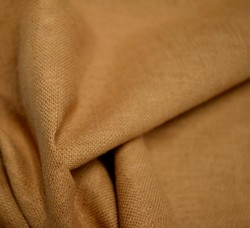 REMNANT Clay Linen Fabric 54 inches x 4.5 yards + More In Two Pieces