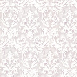 Aurora Lavender Damask Wallpaper