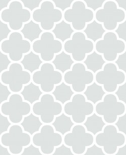 Origin Mint Quatrefoil Wallpaper