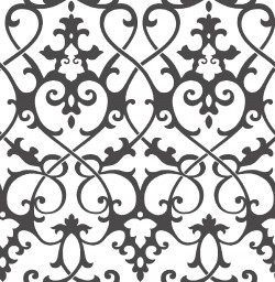 Axiom Black Ironwork Wallpaper