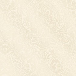 Alistair Champagne Damask Wallpaper