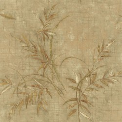 For Your Bath III Kazumi Olive Bamboo Texture Wallpaper