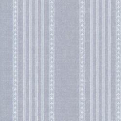 Texture Trends II Adria Blue Jacquard Stripe Wallpaper