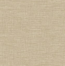 2744-24121 Exhale Taupe Faux Grasscloth Wallpaper
