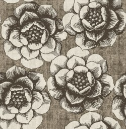 2763-24239 Fanciful Brown Floral Wallpaper