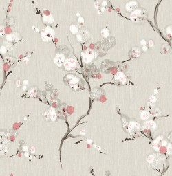 2764-24307 Bliss Coral Blossom Wallpaper