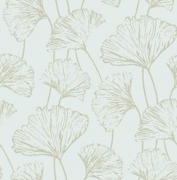 2764-24314 Reverie Seafoam Ginkgo Wallpaper