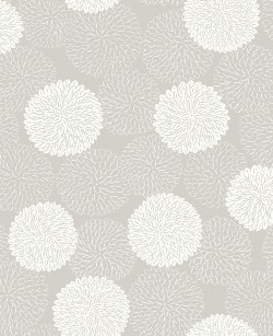 2764-24328 Blithe Taupe Floral Wallpaper