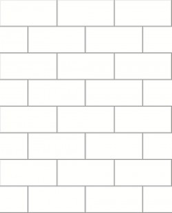 2766-23750 Parkway Off-White Subway Tile Wallpaper