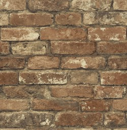 2767-20097 Libra Red Brick Texture Wallpaper