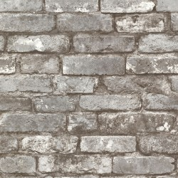 2767-21259 Garett Grey Brick Wallpaper