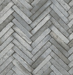 2767-23758 Arrow Grey Diagonal Slate Wallpaper