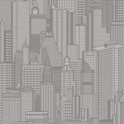 Aston Grey City Wallpaper