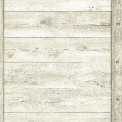 Absaroka Off-White Shiplap Wallpaper