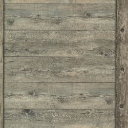 Absaroka Brown Shiplap Wallpaper