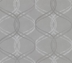 2813-801644 Waters Grey Ogee Wallpaper