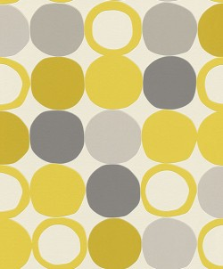 2813-805116 Beard Yellow Geometric Wallpaper