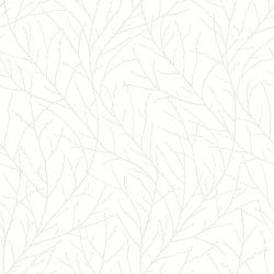2827-7177 Branches Off-White Trees Wallpaper