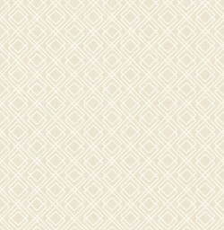 2836-22021 Puck Wheat Geometric Wallpaper