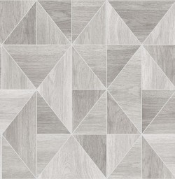 2836-24960 Corin Light Grey Wood Geometric Wallpaper