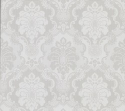 2836-802443 Juliet Light Grey Damask Wallpaper